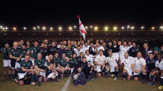 Rugby Legends at Twickenham Stoop England v Ireland